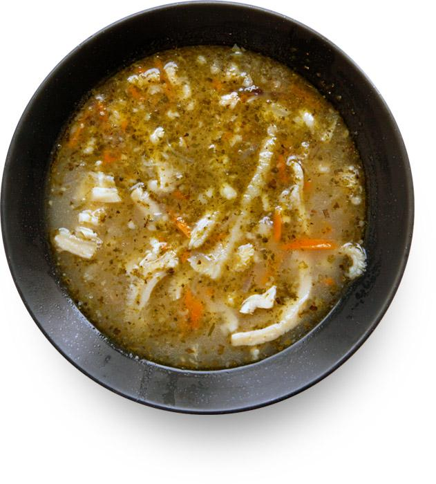 Polish Tripe Soup (Flaki wolowe)